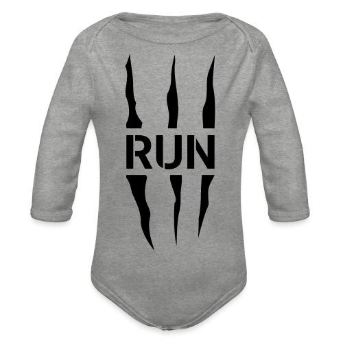 Run Scratch - Body Bébé bio manches longues