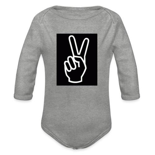 MVlogsmerch - Organic Longsleeve Baby Bodysuit