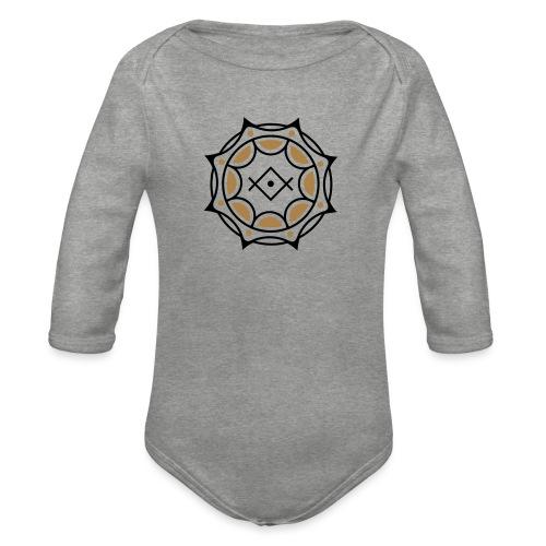 Spirituelles Symbol, Gruß der Lichtarbeiter, Kryon - Baby Bio-Langarm-Body