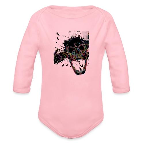 Shot Skull - Organic Longsleeve Baby Bodysuit