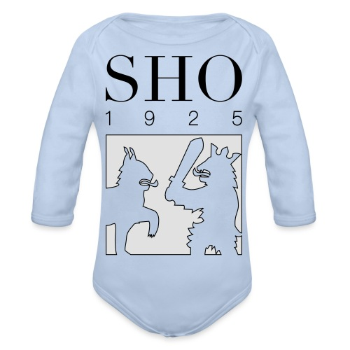 SHO 1925 - Vauvan pitkähihainen luomu-body