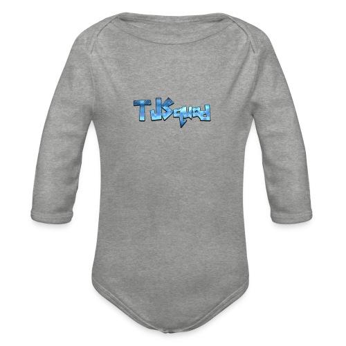 TJ SQUAD MERCH!!! - Organic Longsleeve Baby Bodysuit