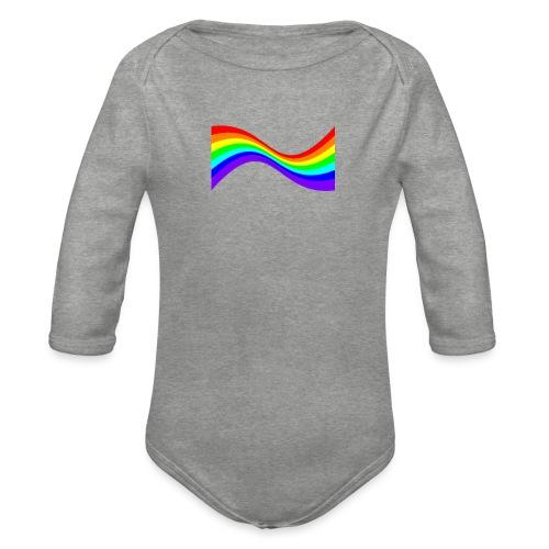 7ssLogo - Organic Longsleeve Baby Bodysuit