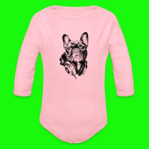 Small_Dog-_-_Bryst_- - Langærmet babybody, økologisk bomuld