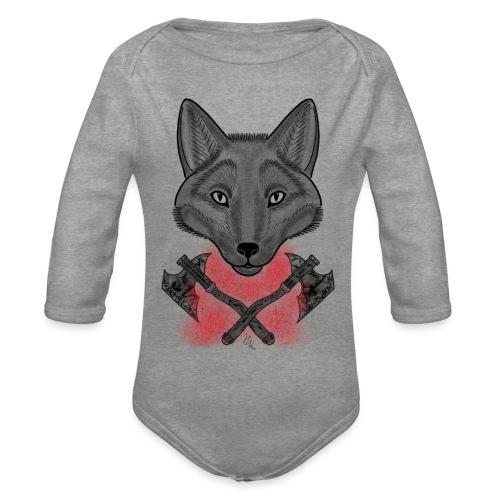 Wolf - Body Bébé bio manches longues