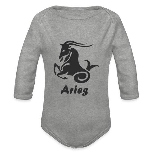 Aries - Body Bébé bio manches longues