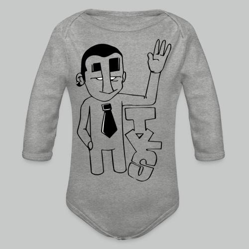 bonhomme tks - Body Bébé bio manches longues