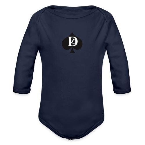 GRIGIO SWEAT DEL LUOGO - Organic Longsleeve Baby Bodysuit