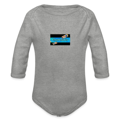Chokladis Barn T-Shirt - Ekologisk långärmad babybody