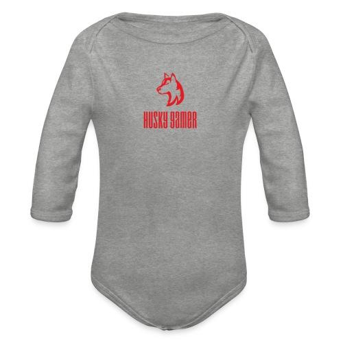 Logo 1.0 - Body ecologico per neonato a manica lunga