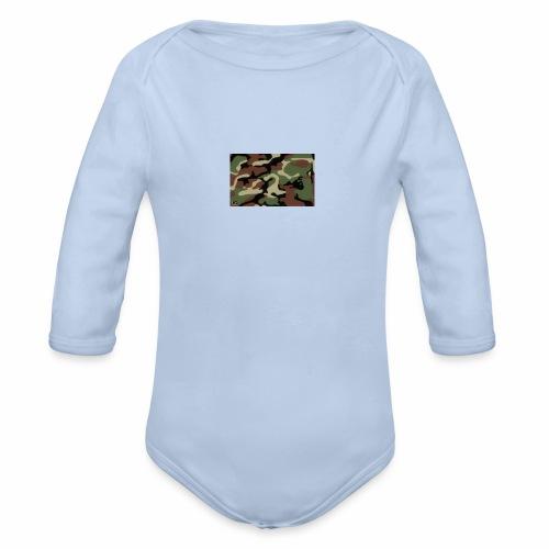 camu - Body orgánico de manga larga para bebé