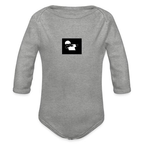 The Dab amy - Organic Longsleeve Baby Bodysuit