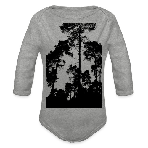 pinus nigra - Organic Longsleeve Baby Bodysuit