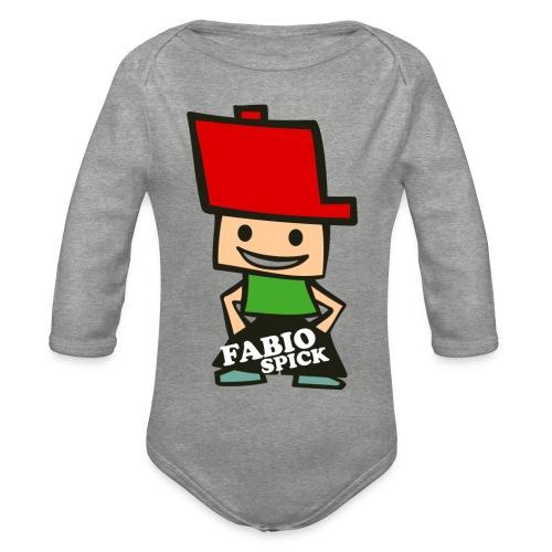 Fabio Spick - Baby Bio-Langarm-Body
