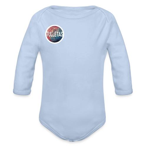 Tulletas - Langærmet babybody, økologisk bomuld