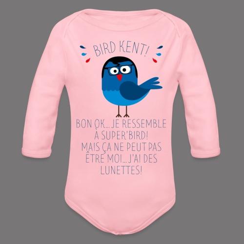 Bird Kent - Body Bébé bio manches longues