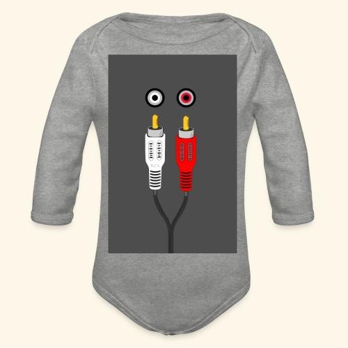 rca cable1 - Body ecologico per neonato a manica lunga