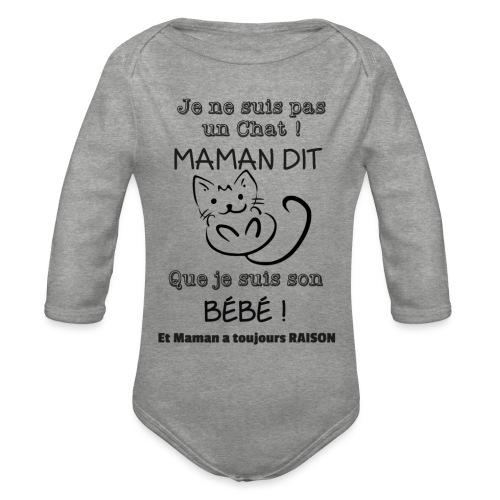 Son Bébé ! - Body Bébé bio manches longues