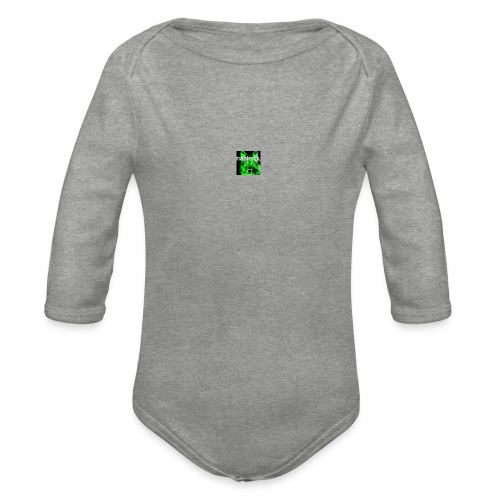 sit for master guy - Organic Longsleeve Baby Bodysuit
