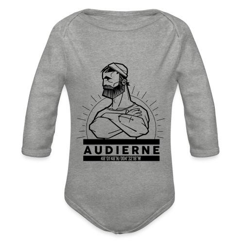 Marin d'Audierne - Body Bébé bio manches longues