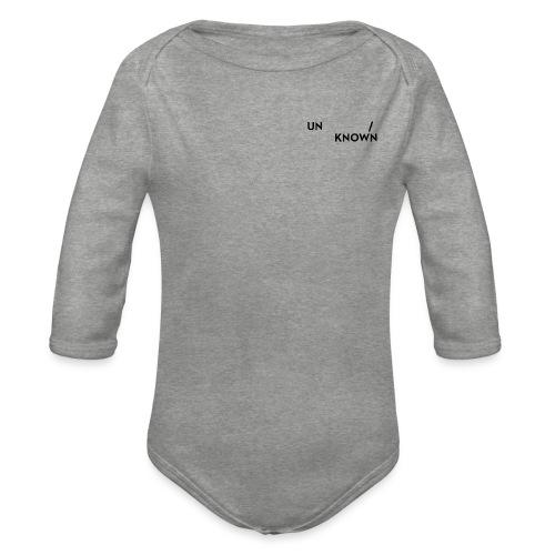 TSCHNIK | Known/Unknown - Organic Longsleeve Baby Bodysuit