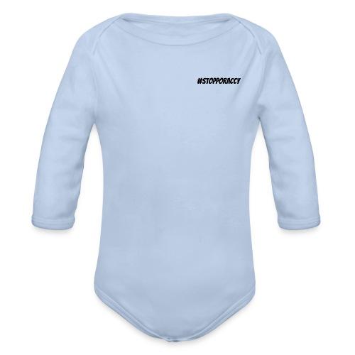 Stop Poraccy - Body ecologico per neonato a manica lunga