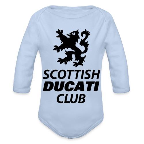 polo pocket 2 - Organic Longsleeve Baby Bodysuit