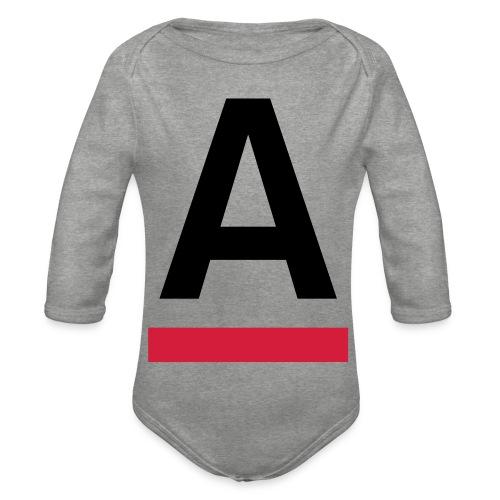Alliansfritt Sverige A logo 2013 Färg - Ekologisk långärmad babybody