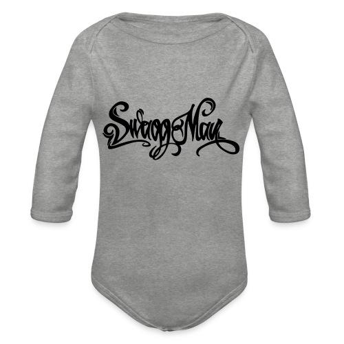 Swagg Man logo - Body Bébé bio manches longues