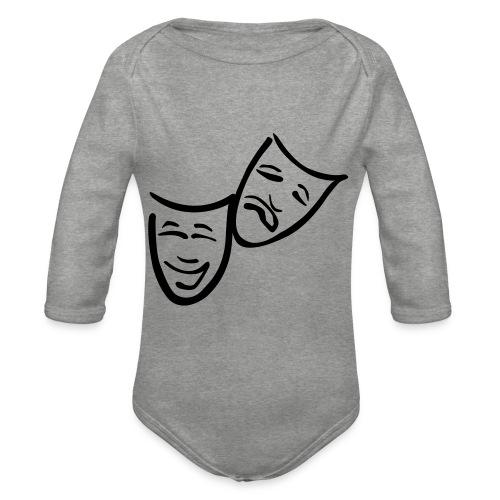Theatermasken - Baby Bio-Langarm-Body