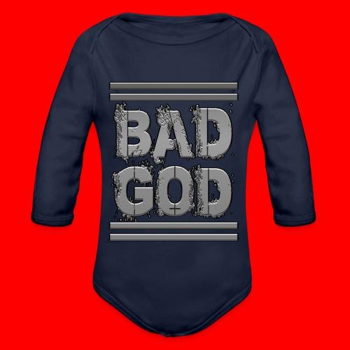 BadGod - Organic Longsleeve Baby Bodysuit