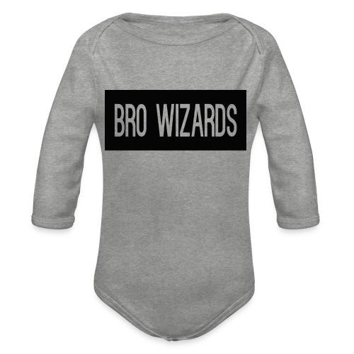 Browizardshoodie - Organic Longsleeve Baby Bodysuit