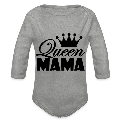 queenmama - Baby Bio-Langarm-Body