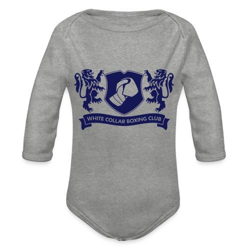 White Collar Boxing Sportsbag - Baby Bio-Langarm-Body