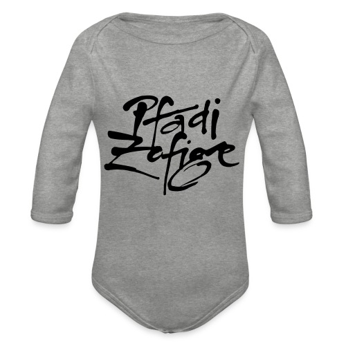 pfadi zofige - Baby Bio-Langarm-Body