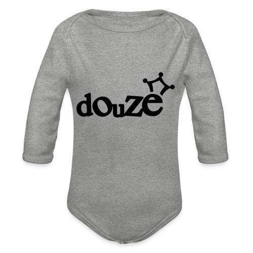 logo_douze - Body Bébé bio manches longues