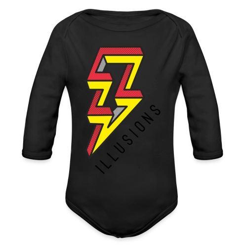 ♂ Lightning - Baby Bio-Langarm-Body