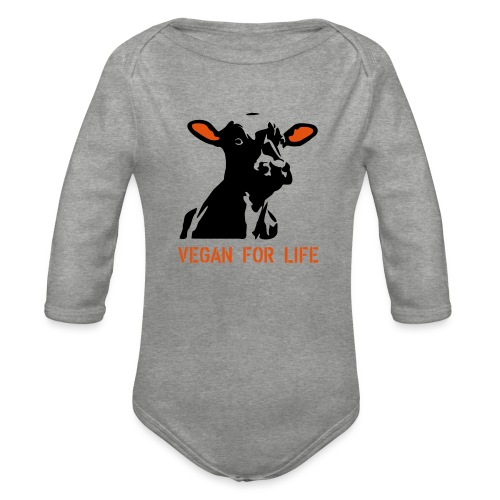 colorida vegan for life - Baby Bio-Langarm-Body
