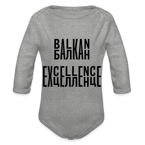 Balkan Excellence vert. - Organic Longsleeve Baby Bodysuit