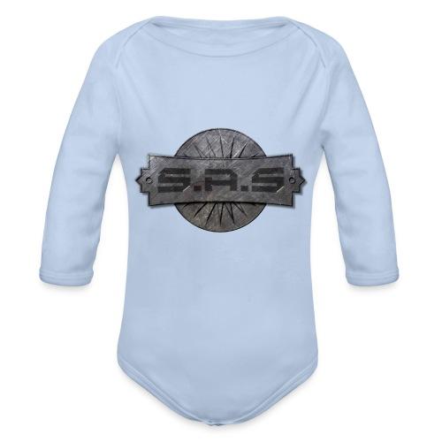 S.A.S. tshirt men - Baby bio-rompertje met lange mouwen