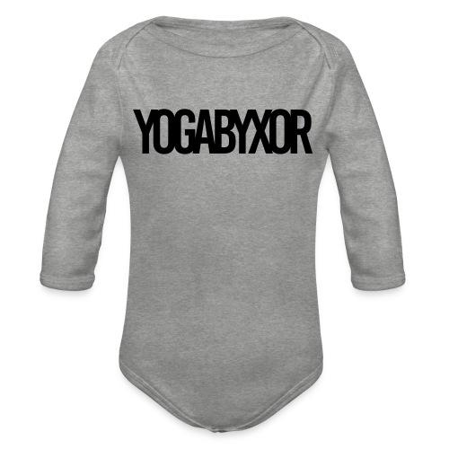 yogabyxor1 - Ekologisk långärmad babybody