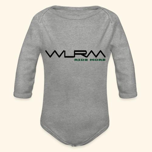 WLRM Schriftzug black png - Baby Bio-Langarm-Body