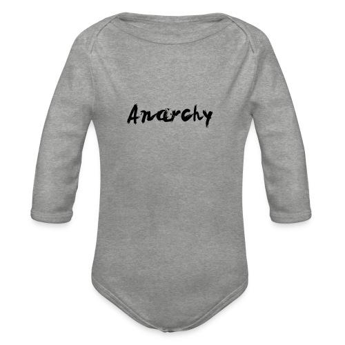 Anarchy - Body Bébé bio manches longues