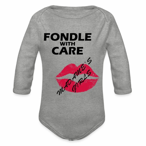 Fondle with Care - Organic Longsleeve Baby Bodysuit
