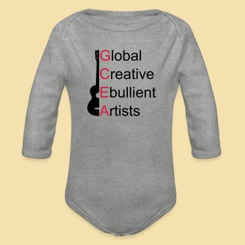 GCEA Global Creative Ebullient Artists - Baby Bio-Langarm-Body
