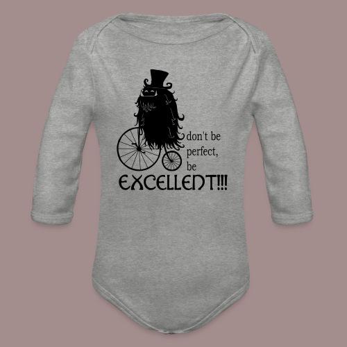 Excellent2 - Baby Bio-Langarm-Body