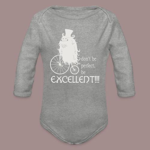 Excellent1 - Baby Bio-Langarm-Body