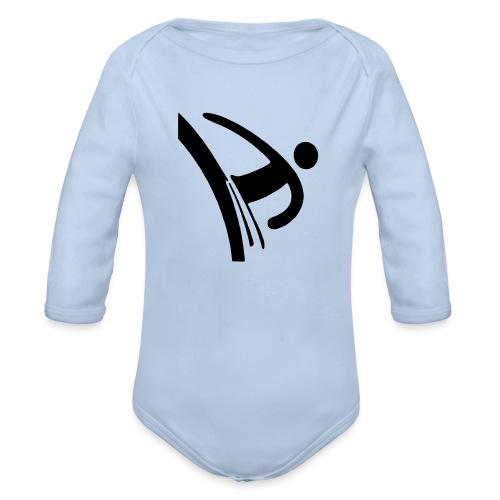 Kicker - Baby Bio-Langarm-Body