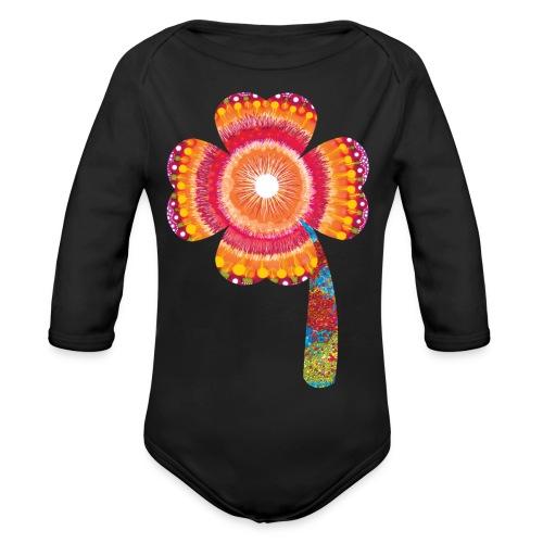 lucky - Organic Longsleeve Baby Bodysuit