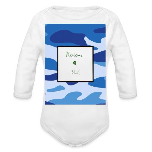 My channel - Organic Longsleeve Baby Bodysuit